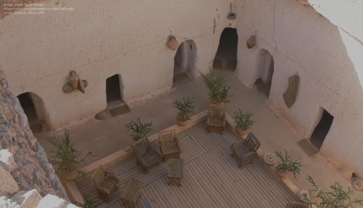 Troglodyten_Gharyan_Libyen